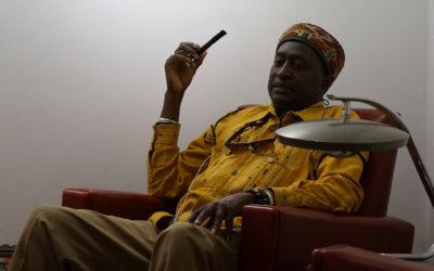 Homenaje al artista africano de Barcelona